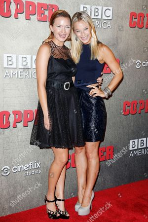 Tanya Fischer and Anastasia Griffith