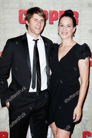 Derek Richardson and Franka Potente
