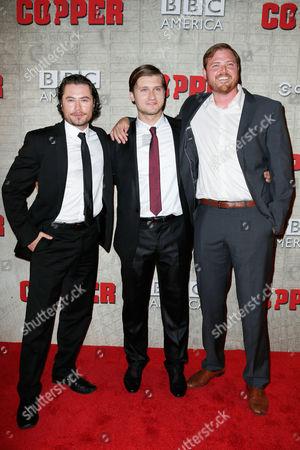 Kyle Schmid, Tom Weston-Jones and Dylan Taylor