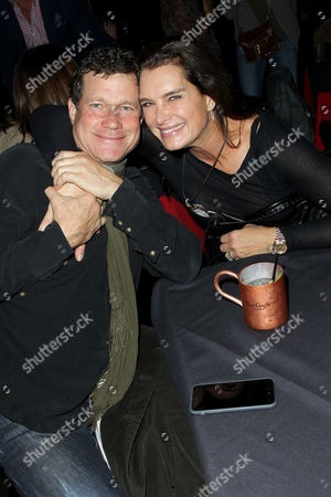 Dylan Walsh and Brooke Shields