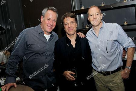 Todd Garner (Producer), Steven Quale (Director), Toby Emmerich (Pres. & COO New Line Cinema)