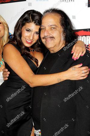 Nicole Rutigliano and Ron Jeremy