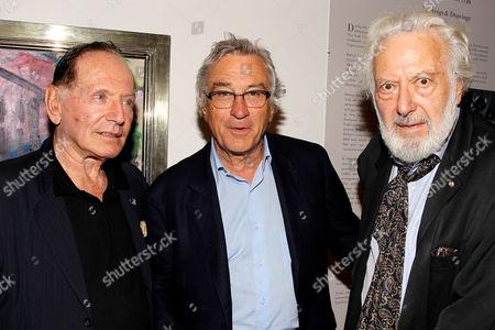 Stock Image of Paul Herman, Robert De Niro, Paul Resika