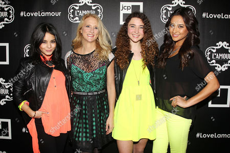 Vanessa Hudgens, Nanette Lepore, Violet Lepore and Shay Mitchell