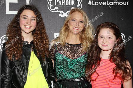 Violet Lepore, Nanette Lepore and Emma Kenney