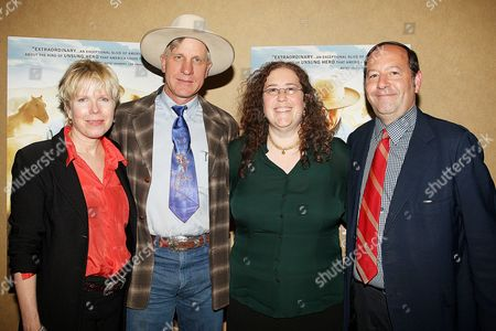 Cindy Meehl (Director), Buck Brannaman, Julie Goldman and Josh B