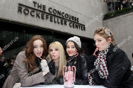 Emma Dumont, Bailey Buntain, Julia Goldani Telles and Kaitlyn Jenkins