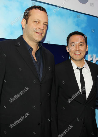 Stock Photo of Vince Vaughn and Steve Byrne