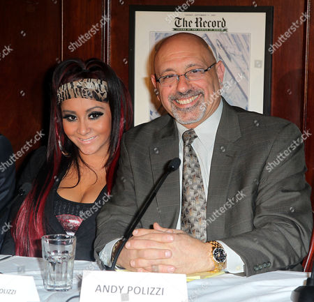 Editorial image of Team Snooki Boxing launch, New York, America - 12 Jan 2012