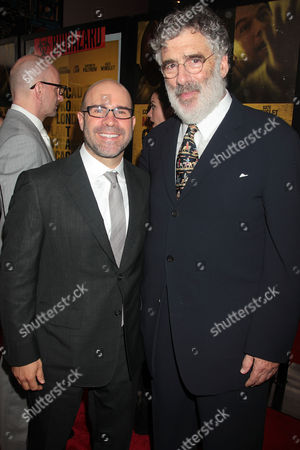 Scott Z. Burns and Elliot Gould