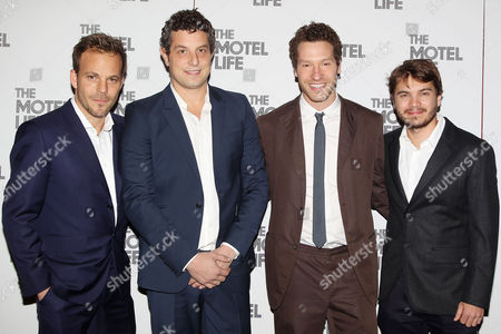 Editorial image of 'The Motel Life' film screening, New York, America - 04 Nov 2013