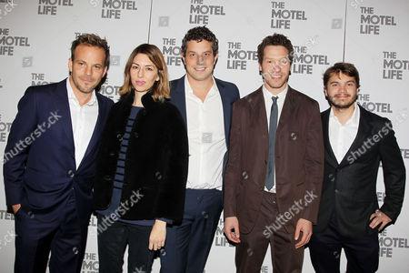 Editorial photo of 'The Motel Life' film screening, New York, America - 04 Nov 2013