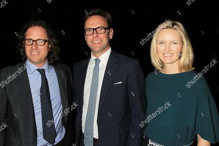 David Guggenheim, James Murdoch, Kathryn Hufschmid