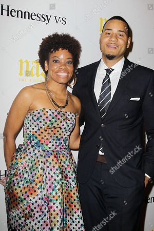 Erik Parker (Writer/Producer) with wife Aliya S. King