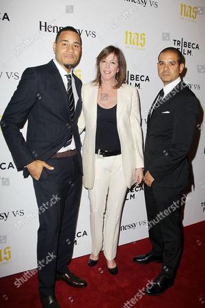 Erik Parker (Writer/Producer), Jane Rosenthal (CEO, Tribeca Enterprises), One9 (Director/Producer)