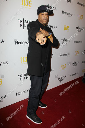 Editorial picture of 'NAS: Time Is Illmatic' film premiere, New York, America - 30 Sep 2014