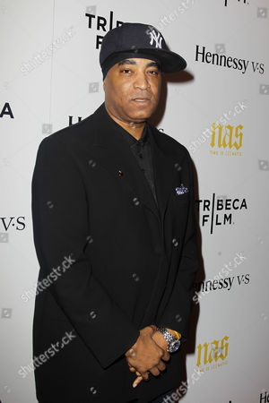 Editorial image of 'NAS: Time Is Illmatic' film premiere, New York, America - 30 Sep 2014