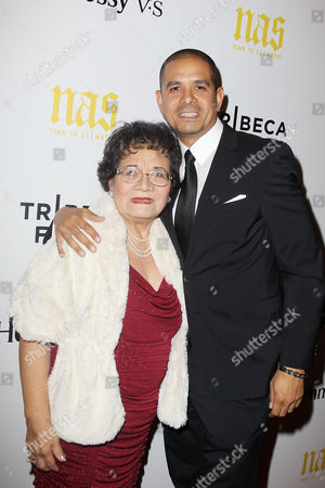 One9 (Director/Producer) with mother