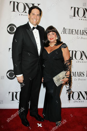 Nick Scandalios and Charlotte St. Martin (The Broadway League)