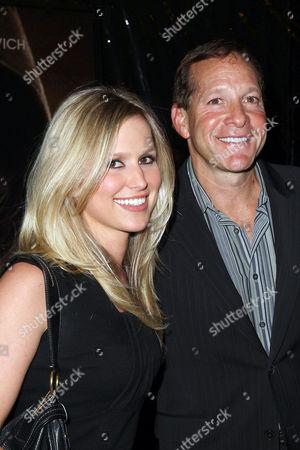 Stock Photo of Steve Guttenberg and girlfriend Anna Gilligan