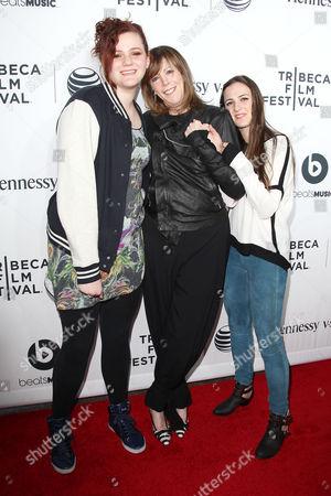 Juliana Hatkoff, Jane Rosenthal and Isabella Hatkoff