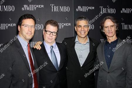 Andrew Karpen (CEO Bleekcker Street), John McNamara (Writer), Michael London (Producer), Jay Roach (Director)