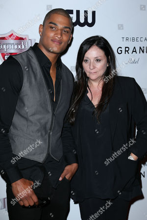 Rob Evans and Kelly Cutrone