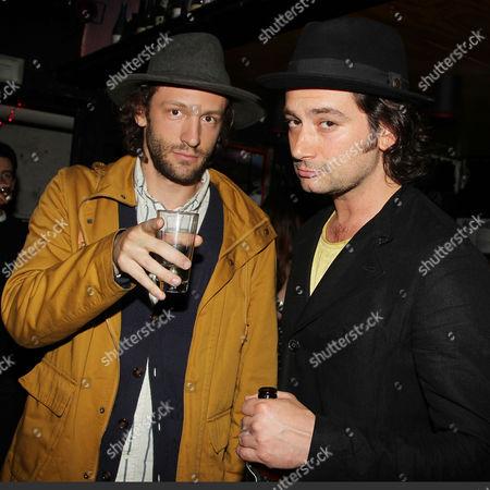 Stock Photo of Zac Sebastian and Constantine Maroulis