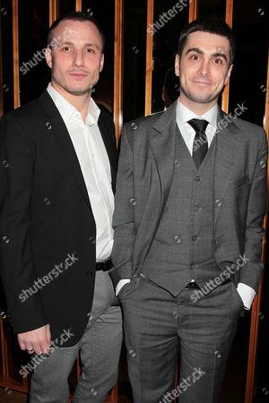 Stock Image of Milos Timotijevic and Boris Ler