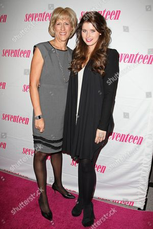 Jayne Jamison (Publisher, Seventeen) and Katherine Schwarzenegger