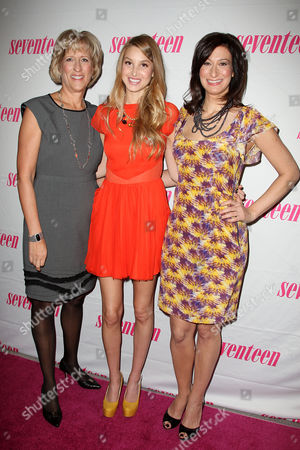 Jayne Jamison (Publisher, Seventeen), Whitney Port and Ann Shoket (Editor-in-Chief, Seventeen)