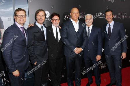 Geoff Shaevitz (Pres. Production Lionsgate), Bernie Goldmann (Producer), Breck Eisner (Director), Mark Canton (Producer), Vin Diesel, Rob Friedman (Lionsgate Co-Chairman), Erik Feig (Co-Pres Lionsgate)