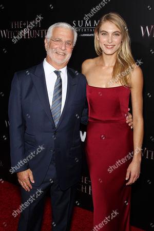 Rob Friedman (Lionsgate Co-Chairman), Allegra Carpenter