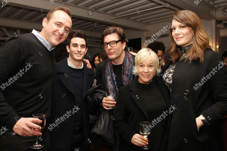 Nicolas Gonda, Sarah Green (Producers; Knight of Cups) and Michelle Collins