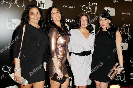 Stock Picture of Jenn Graziano, Ramona Rizzo, Karen Gravano, Renee Graziano
