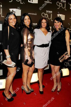Stock Photo of Jenn Graziano, Ramona Rizzo, Karen Gravano, Renee Graziano