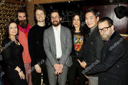 Elizabeth Jasicki, Paul Manza, Jake Lodwick, Benjamin Dickinson (Writer,Director), Jessica Blank, Austin Ku, Gavin McInnes (Cast)