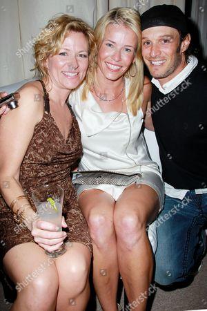 Sarah Colonna, Chelsea Handler, Josh Wolf