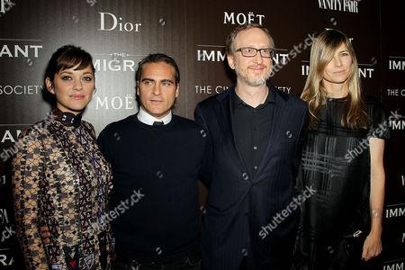 Marion Cotillard, Joaquin Phoenix, James Gray (Director), Alexandra Dickson