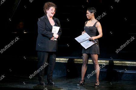 Stock Image of Aida Turturro and Brenda Braxton