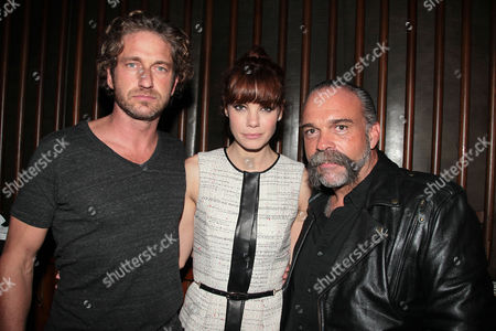 Gerard Butler, Michelle Monaghan and Sam Childers