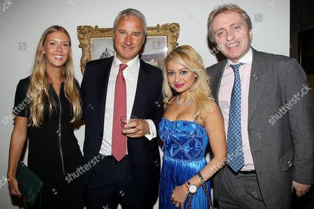 Stock Picture of Kate Cowdrey, Jeremy Cowdrey, Dr Shireen Fernandez, Alex Harris