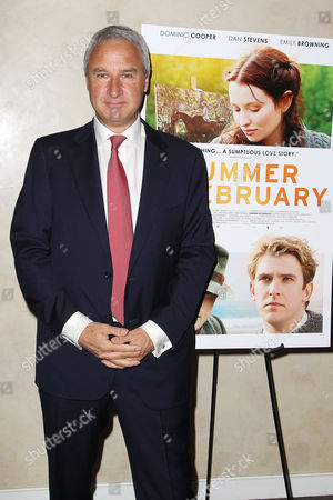 Editorial picture of 'Summer in February' film screening, New York, America - 14 Jan 2014