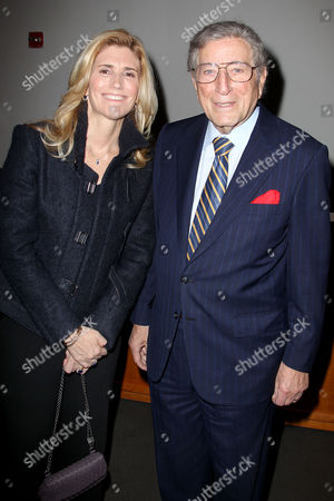 Tony Bennett and Susan Benedetto (wife)