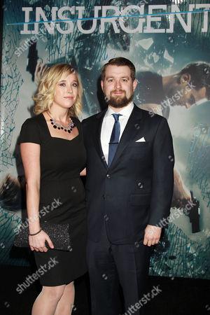 Editorial image of 'Insurgent' film premiere, New York, America - 16 Mar 2015