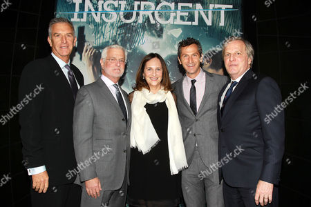 Stock Picture of Steve Beeks, Rob Friedman, Lucy Fisher, Erik Feig, Douglas Wick
