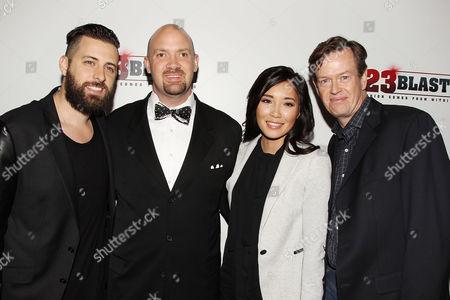 Editorial image of '23 Blast' film premiere, New York, America - 20 Oct 2014