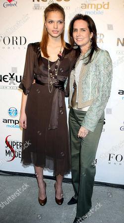 Katsia Damenkova and Katie Ford