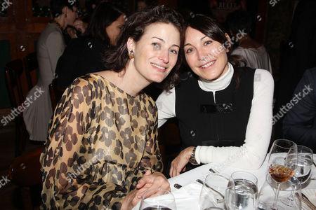 Marina Rust and Tamara Mellon