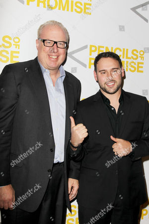 Steve Bartels (CEO of Def Jam) and Scooter Braun